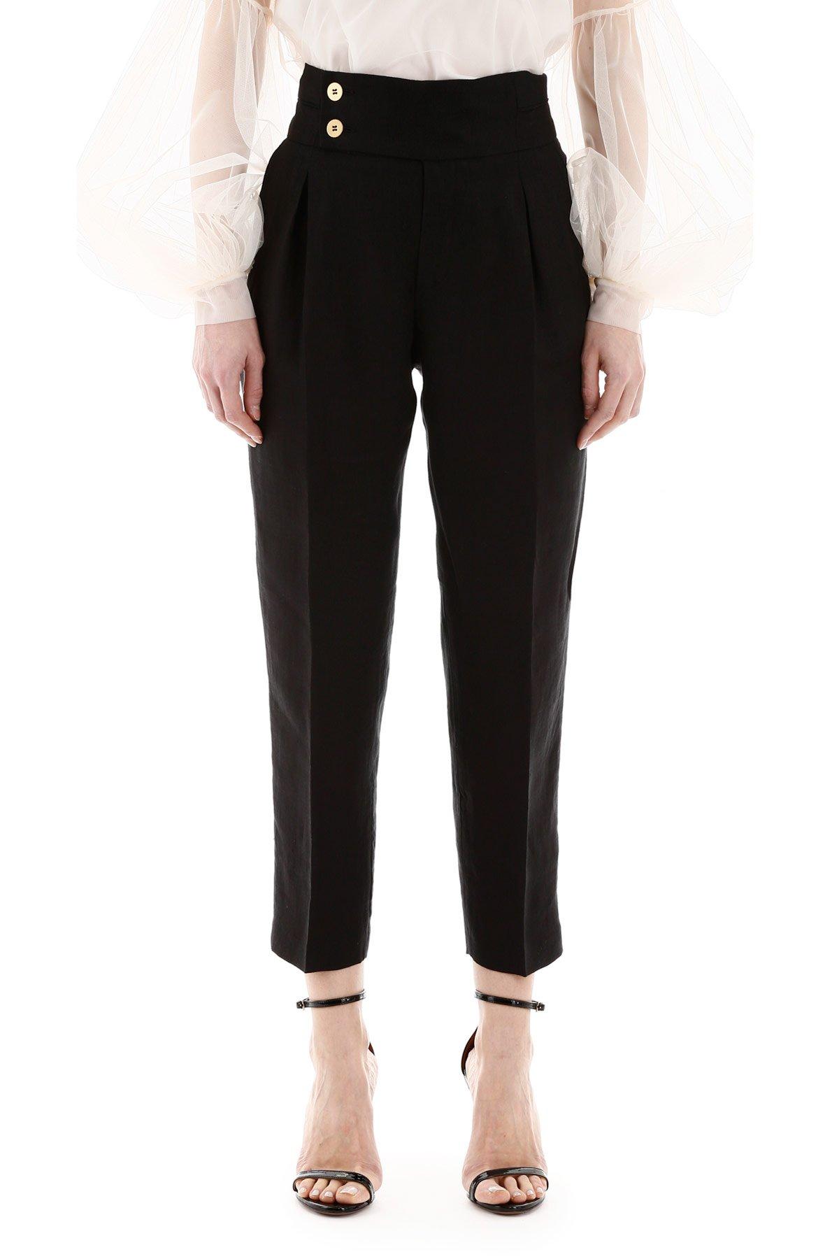 L'autre chose pantalone in lino