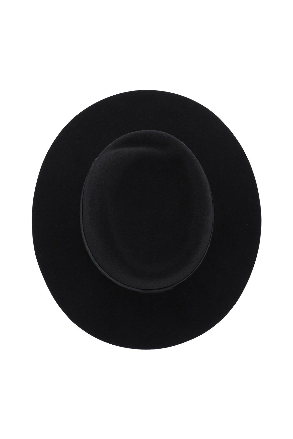Maison michel cappello fedora in feltro virginie