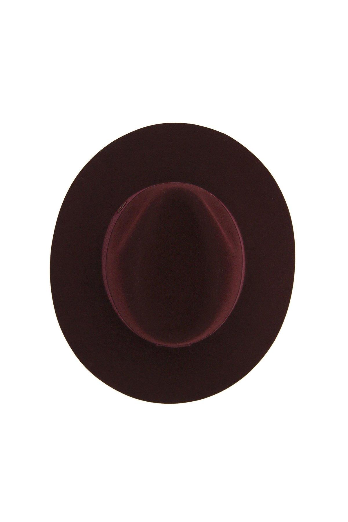 Maison michel cappello fedora in feltro henrietta