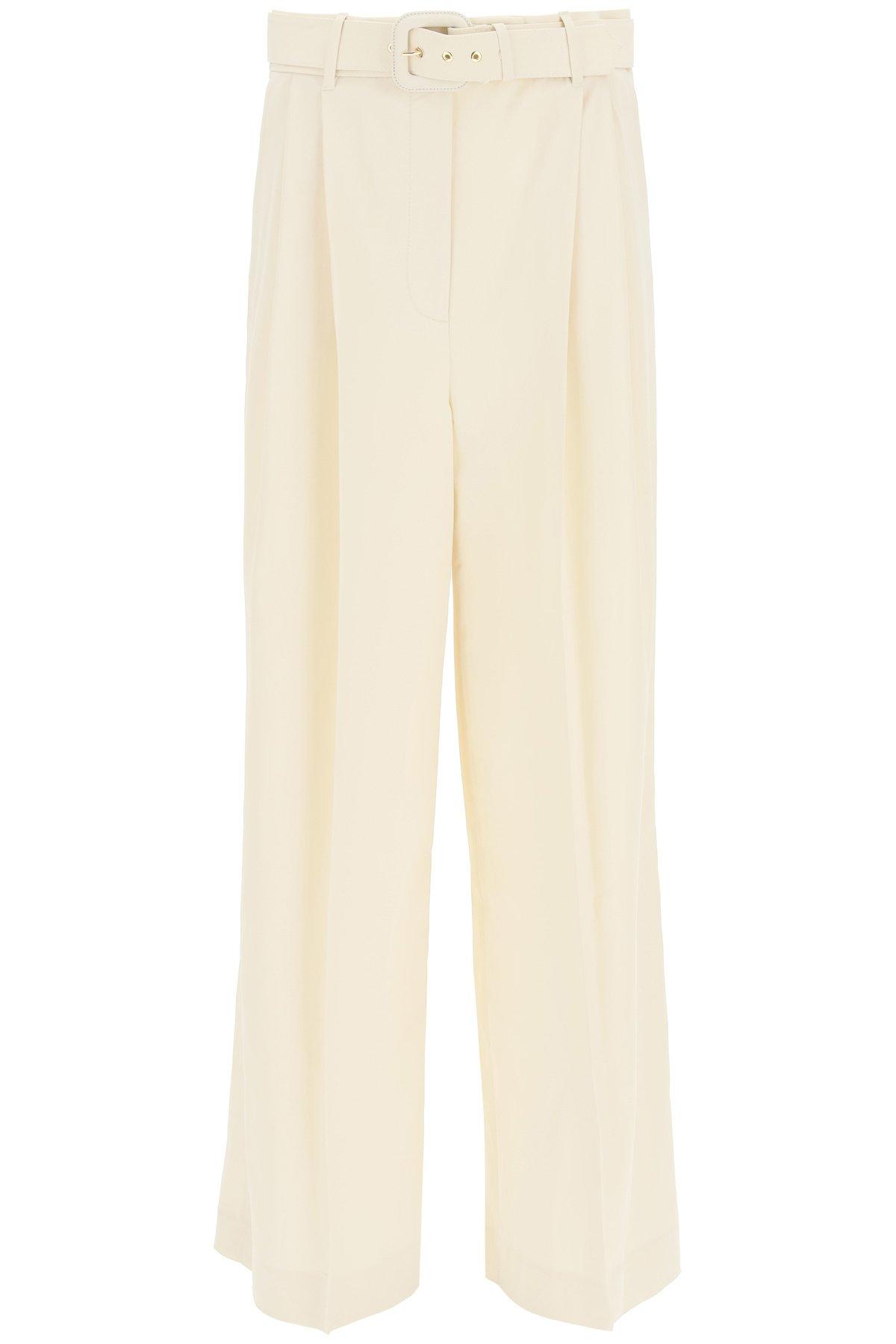 Zimmermann pantalone largo con cintura
