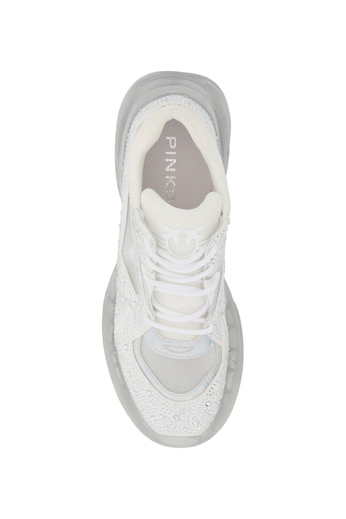 Pinko sneakers rubino diamond 1