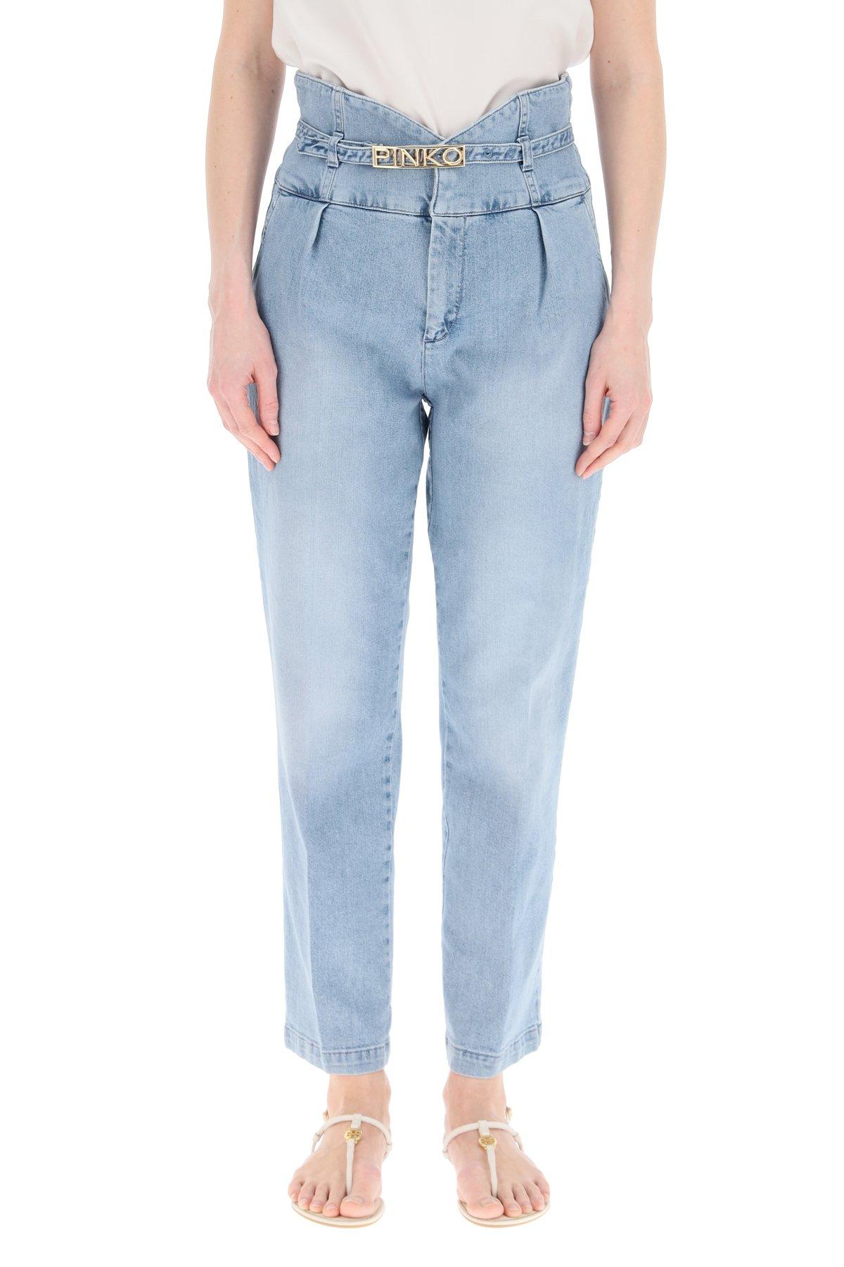 Pinko jeans ariel vita alta bustier