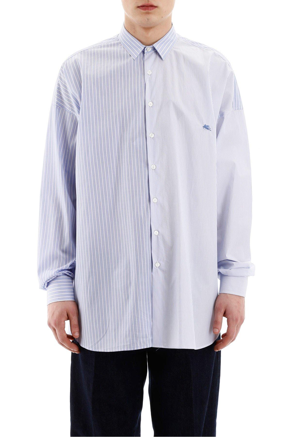 Etro camicia multi righe