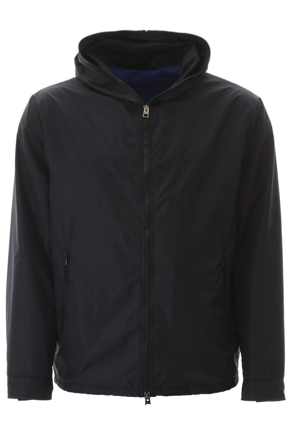 Etro giacca a vento con logo on back