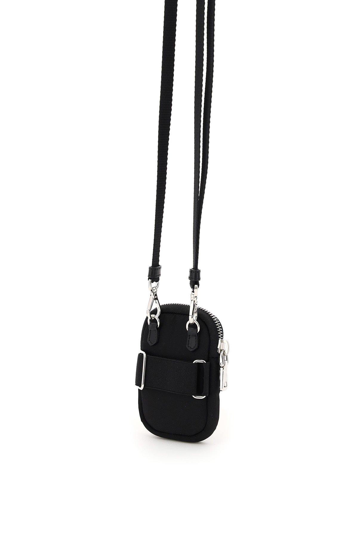 Prada mini pouch con tracolla