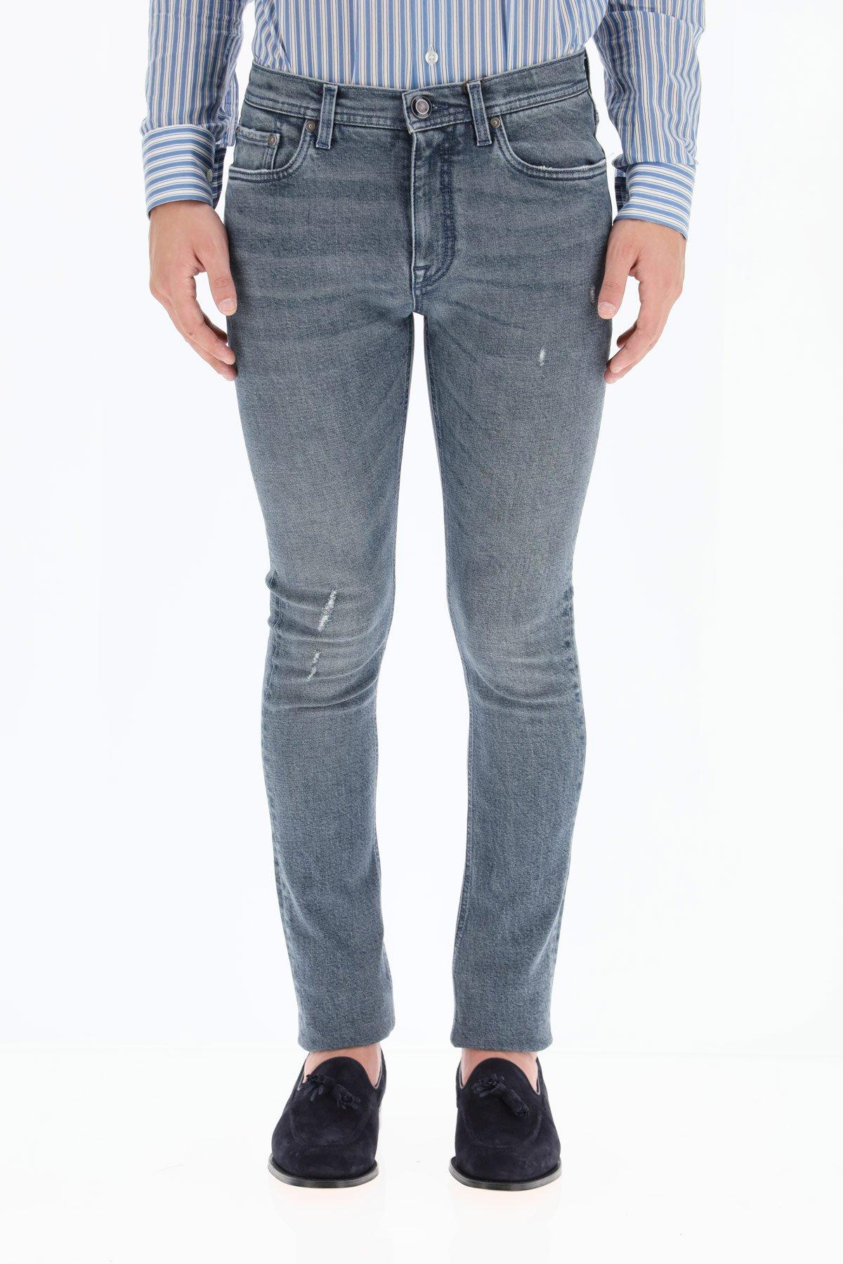 Etro jeans logo ricamato