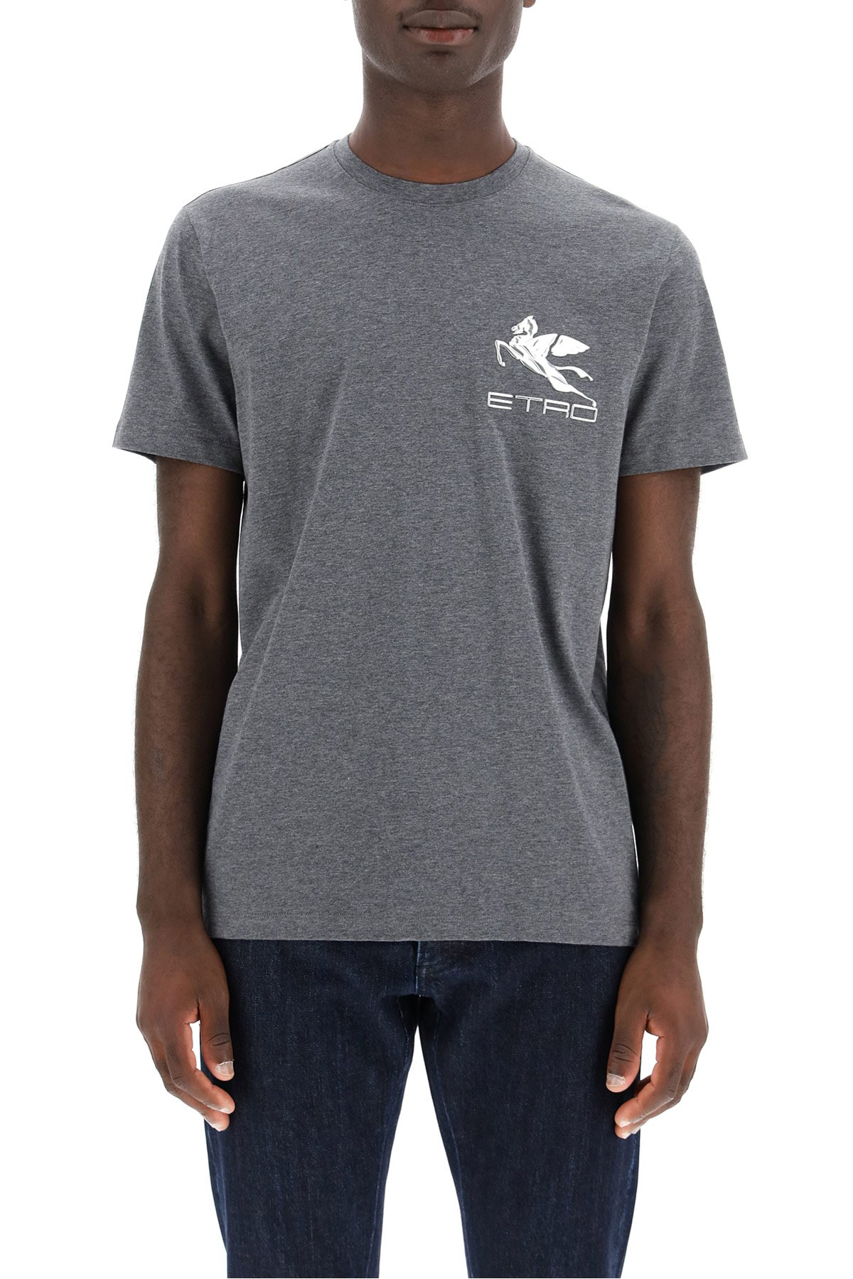 Etro t-shirt patch pegaso
