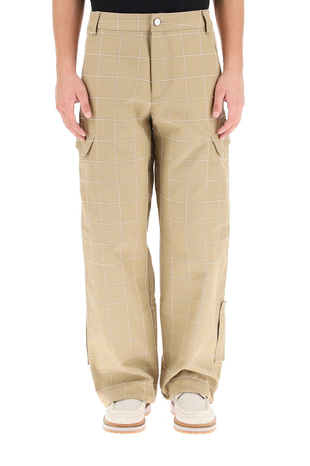 Jacquemus pantaloni a quadri