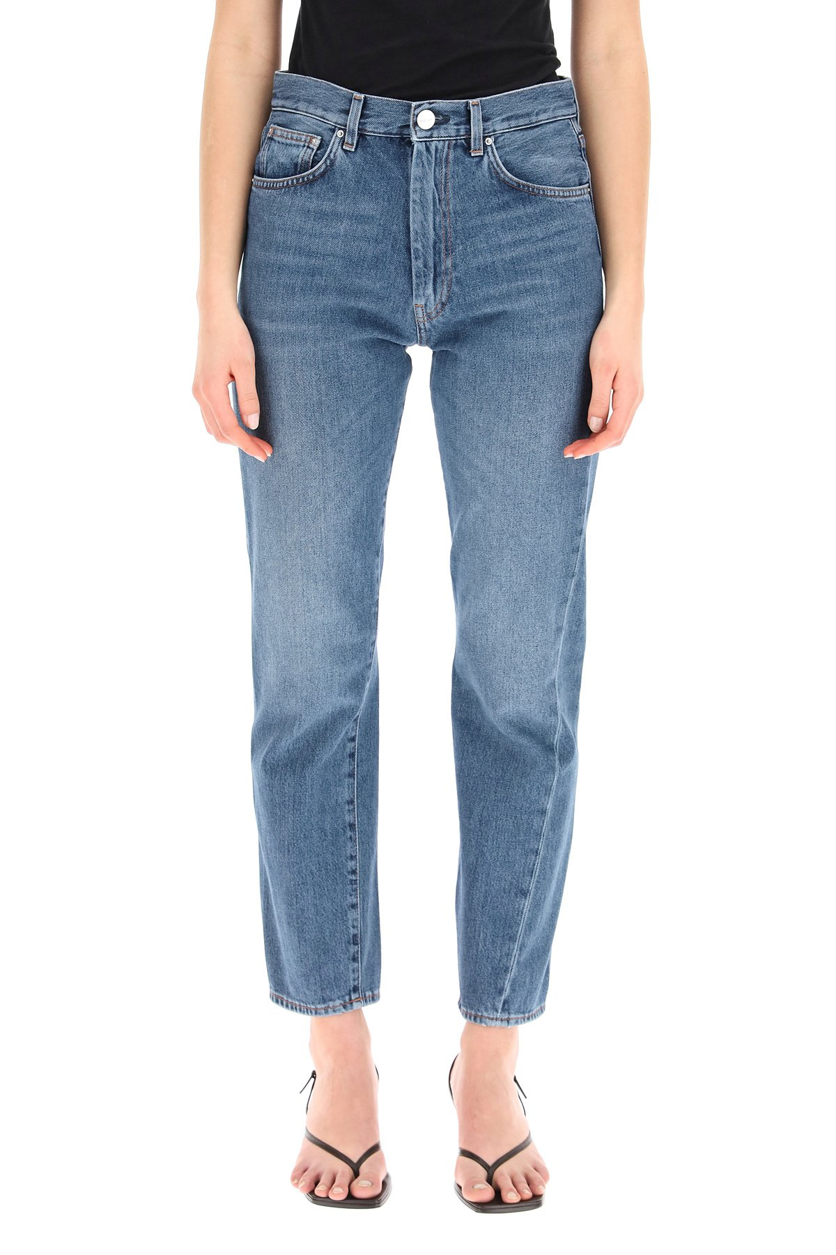 Toteme jeans twisted seam