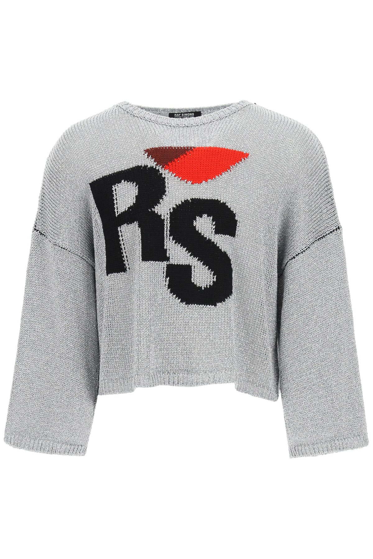 Raf simons pullover oversize ricamo rs