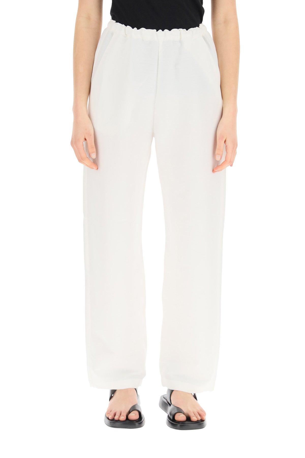 Toteme pantaloni larghi con elastico