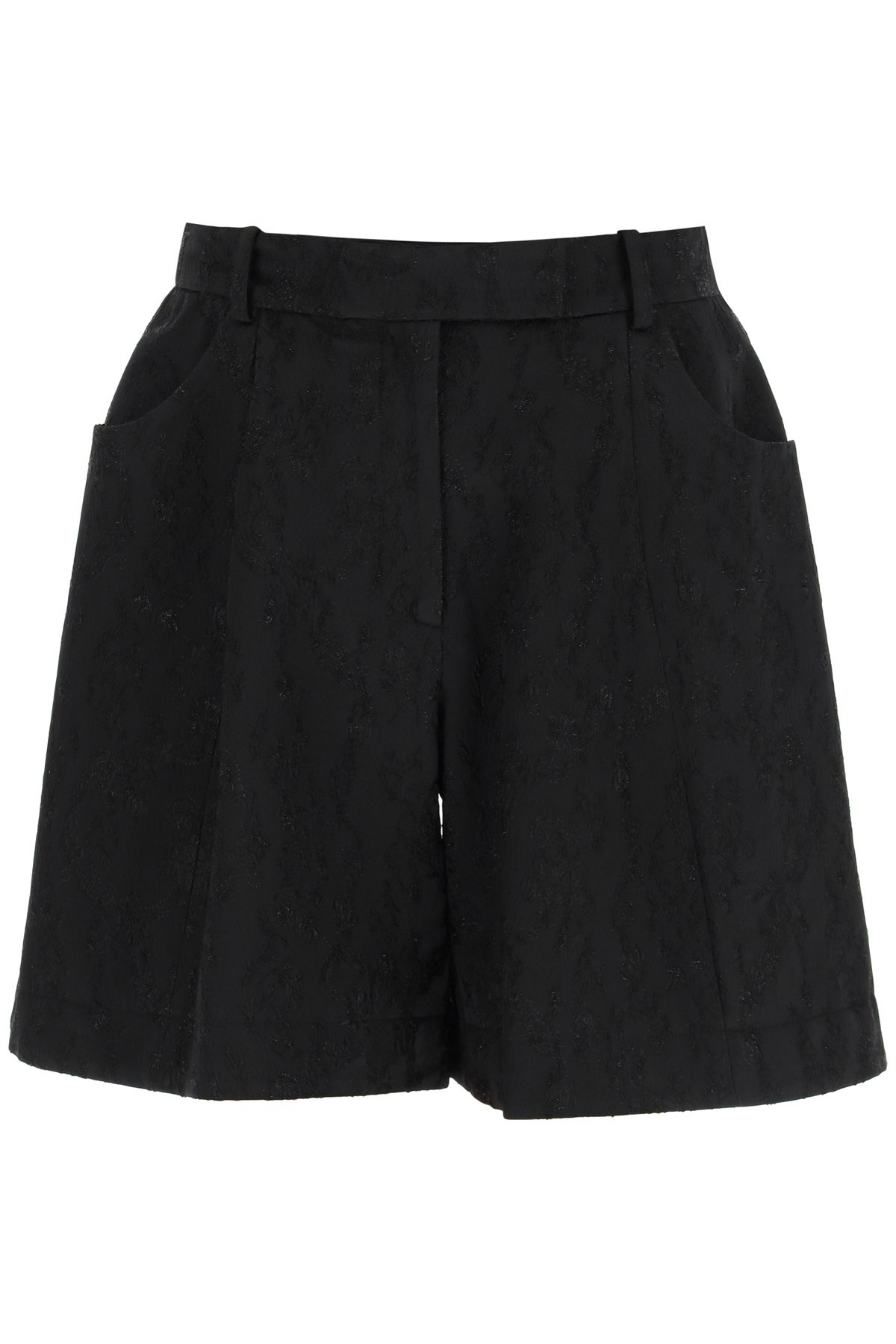 Simone rocha shorts sagomati ricamati
