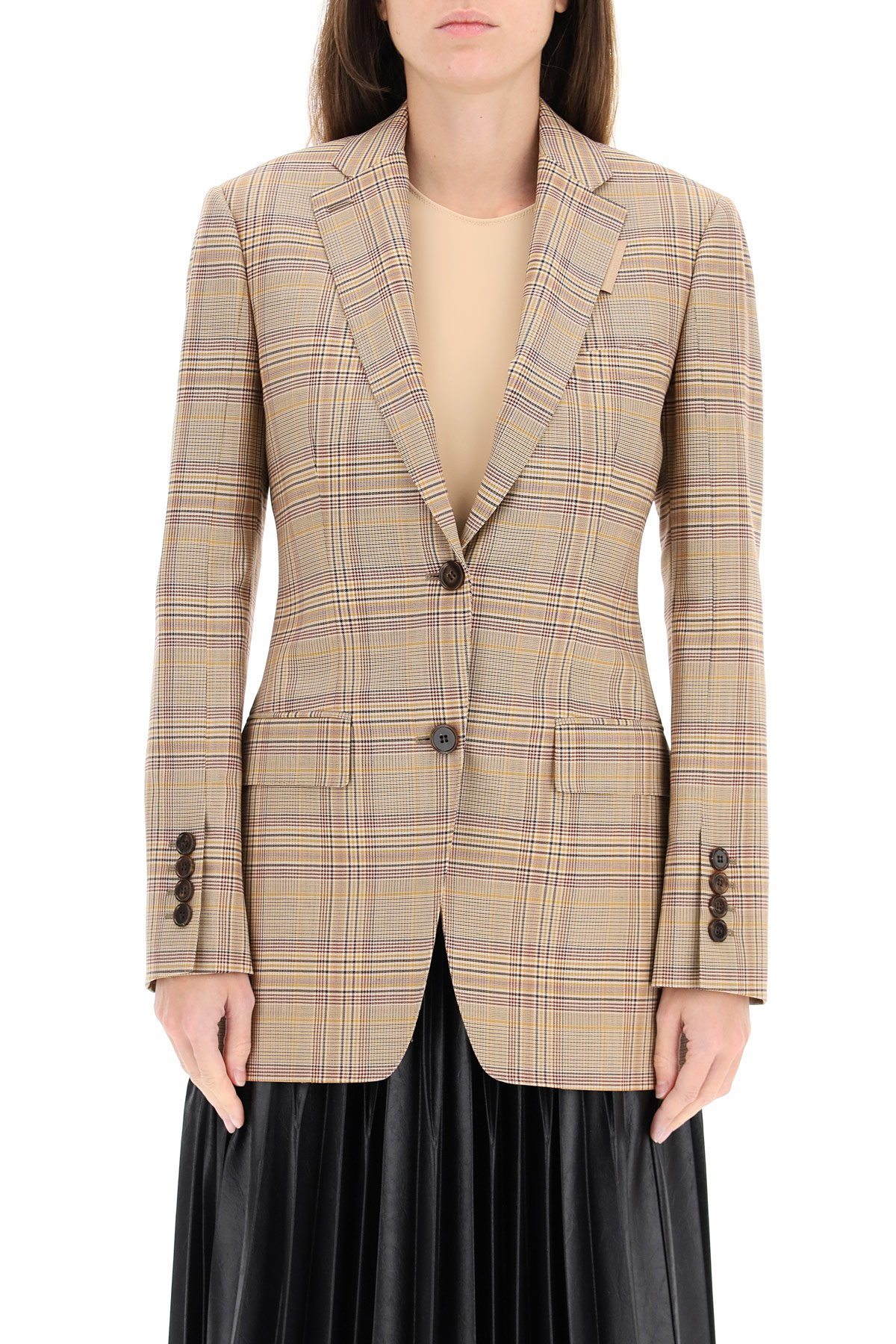 Burberry giacca sartoriale in lana