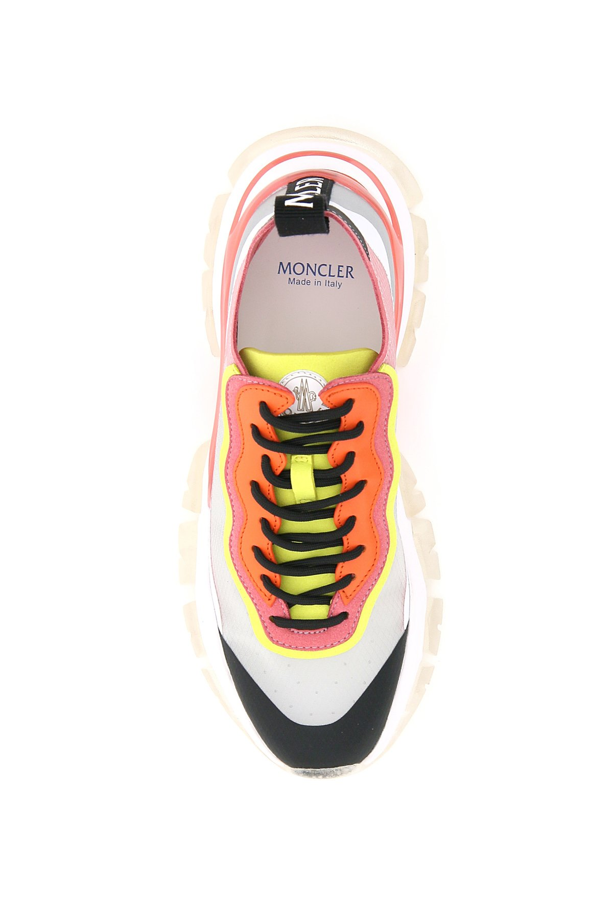 Moncler basic sneakers leave no trace light