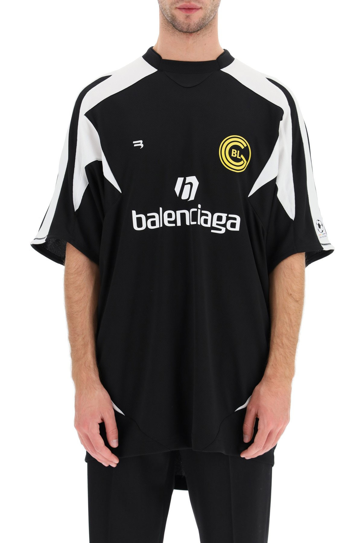 Balenciaga t-shirt stampa soccer