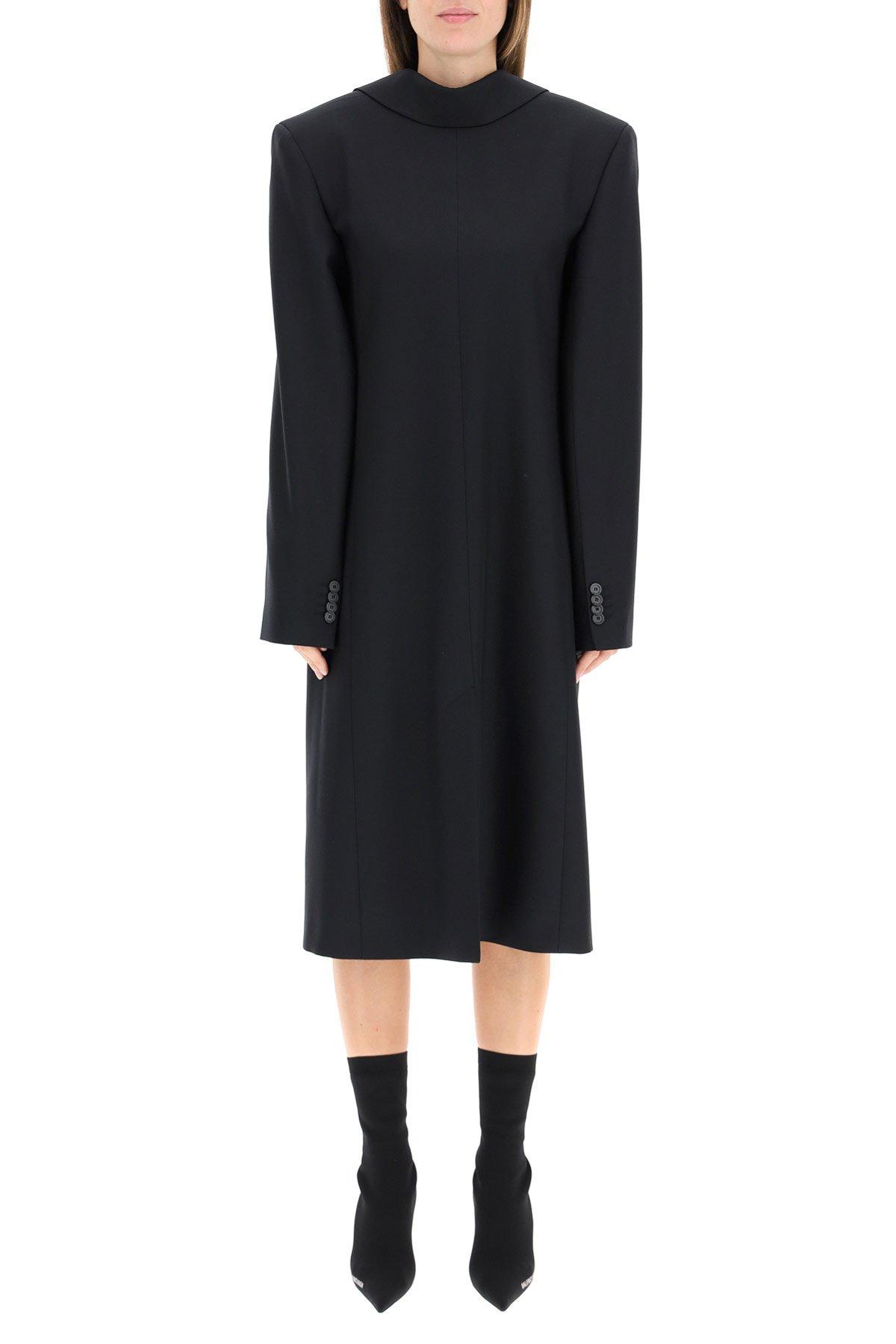 Balenciaga abito back to front