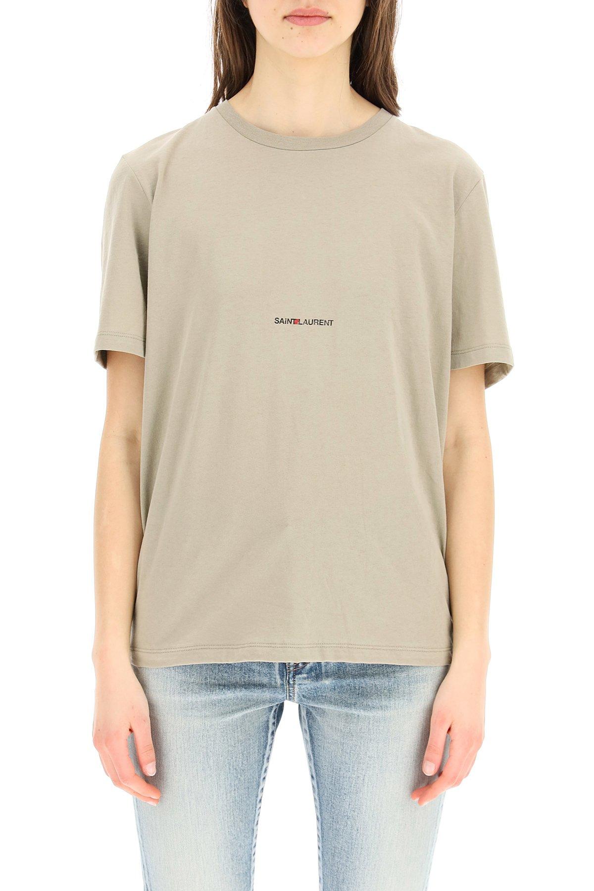 Saint laurent t-shirt stampa logo