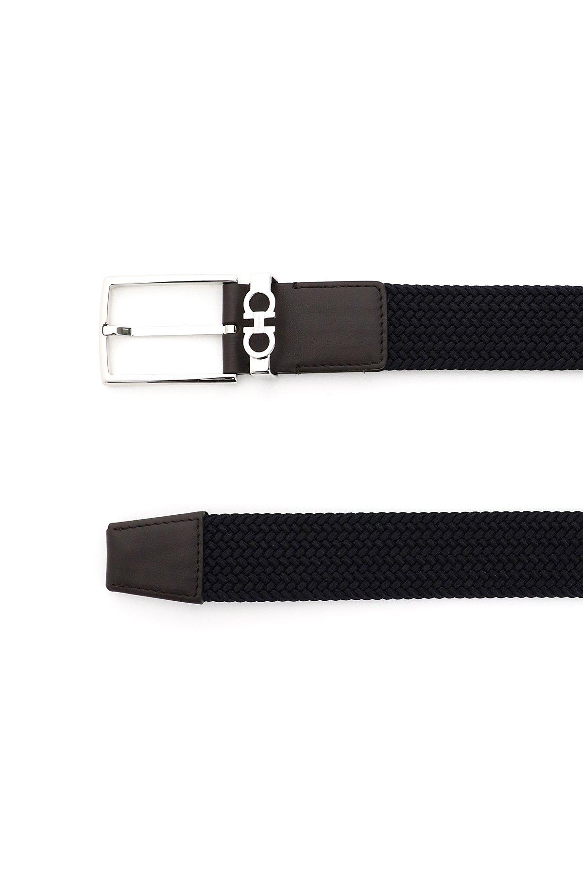 Salvatore ferragamo cintura elastica strings & tassel