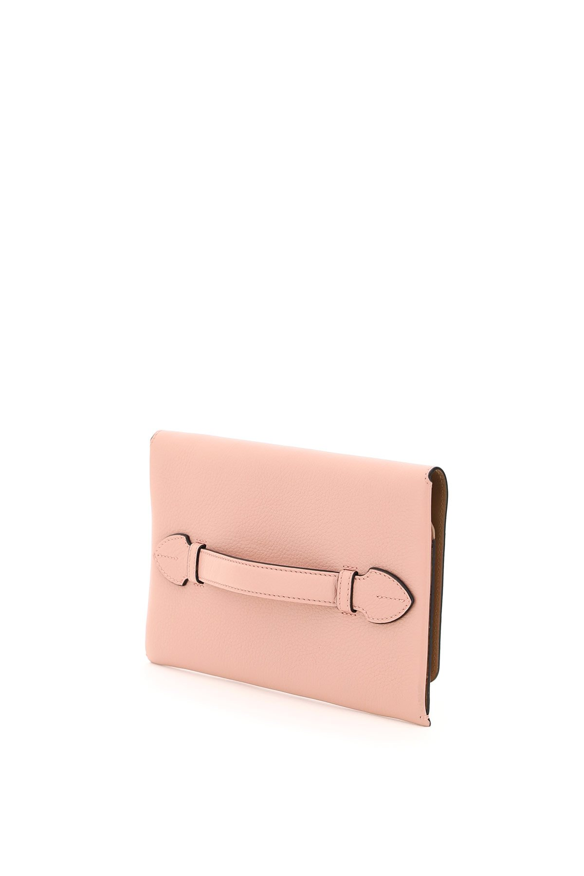 Burberry pouch in pelle pearson