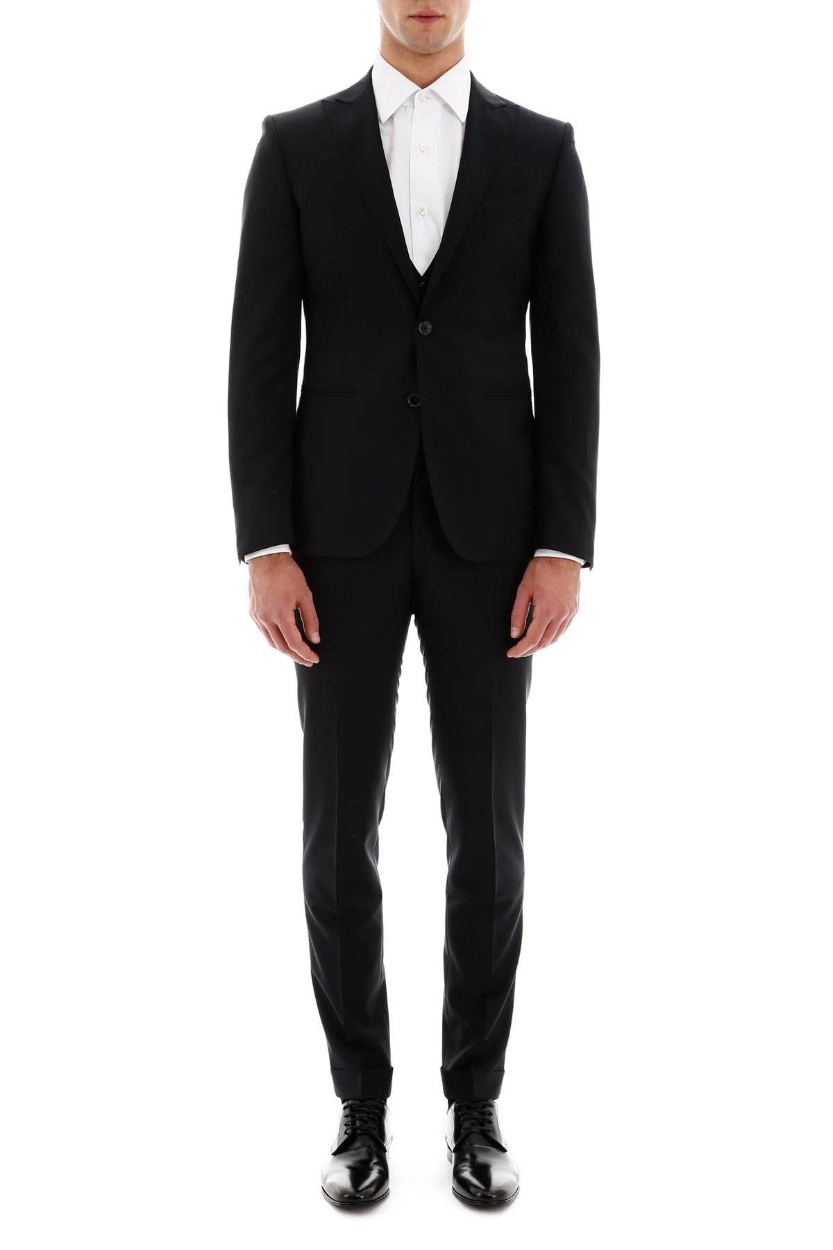 Cc collection corneliani abito cerimonia con gilet