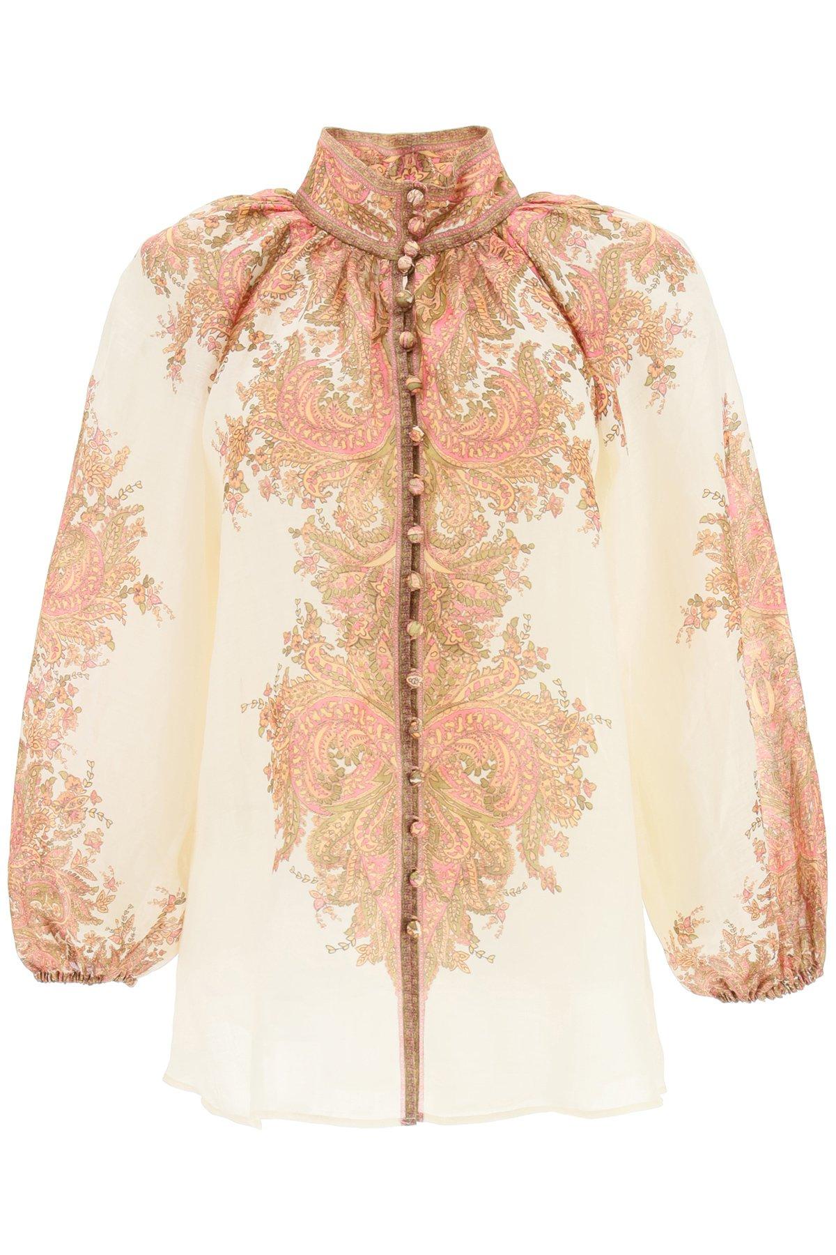 Zimmermann camicia brigthon paisley