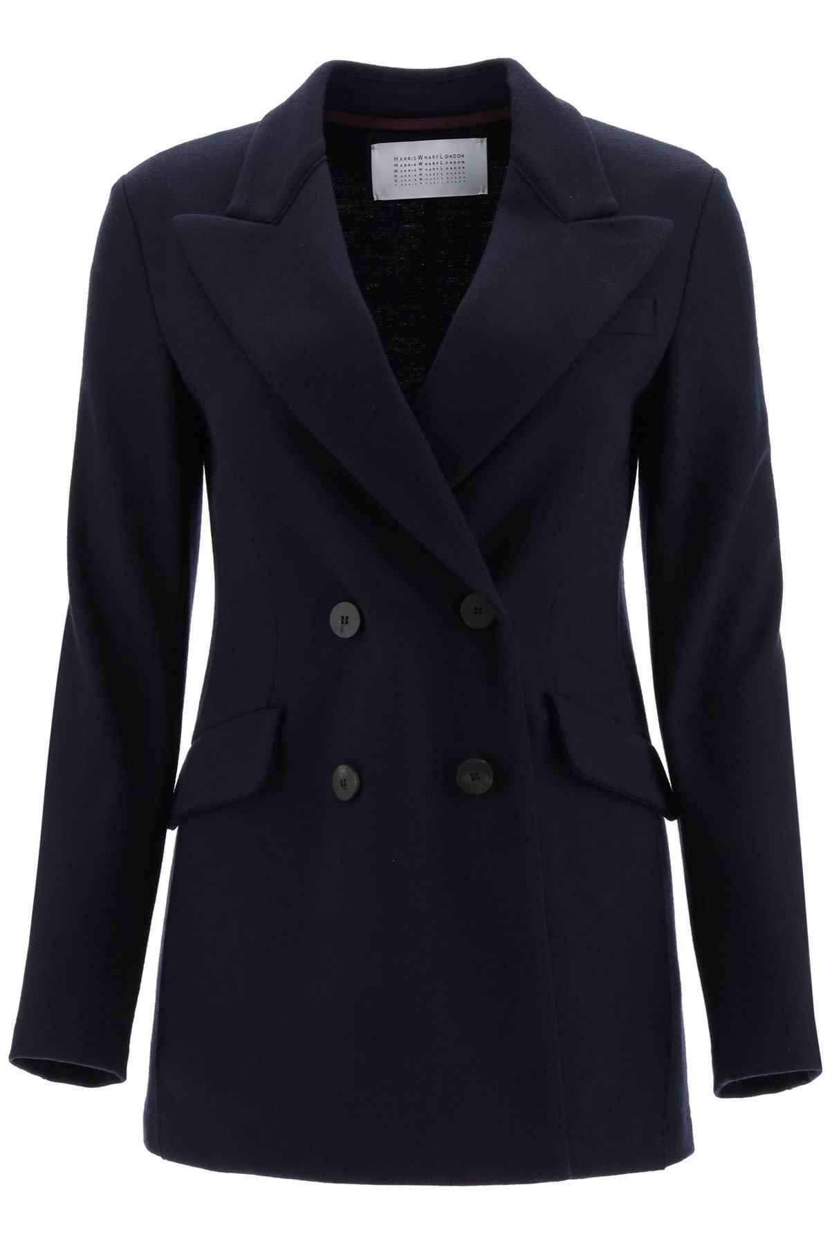 Harris wharf london giacca/maglia doppio petto