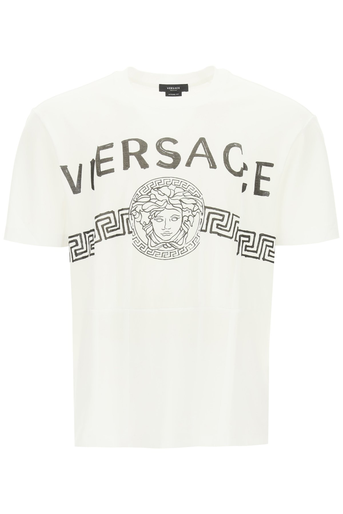 Versace t-shirt logo medusa assemblato