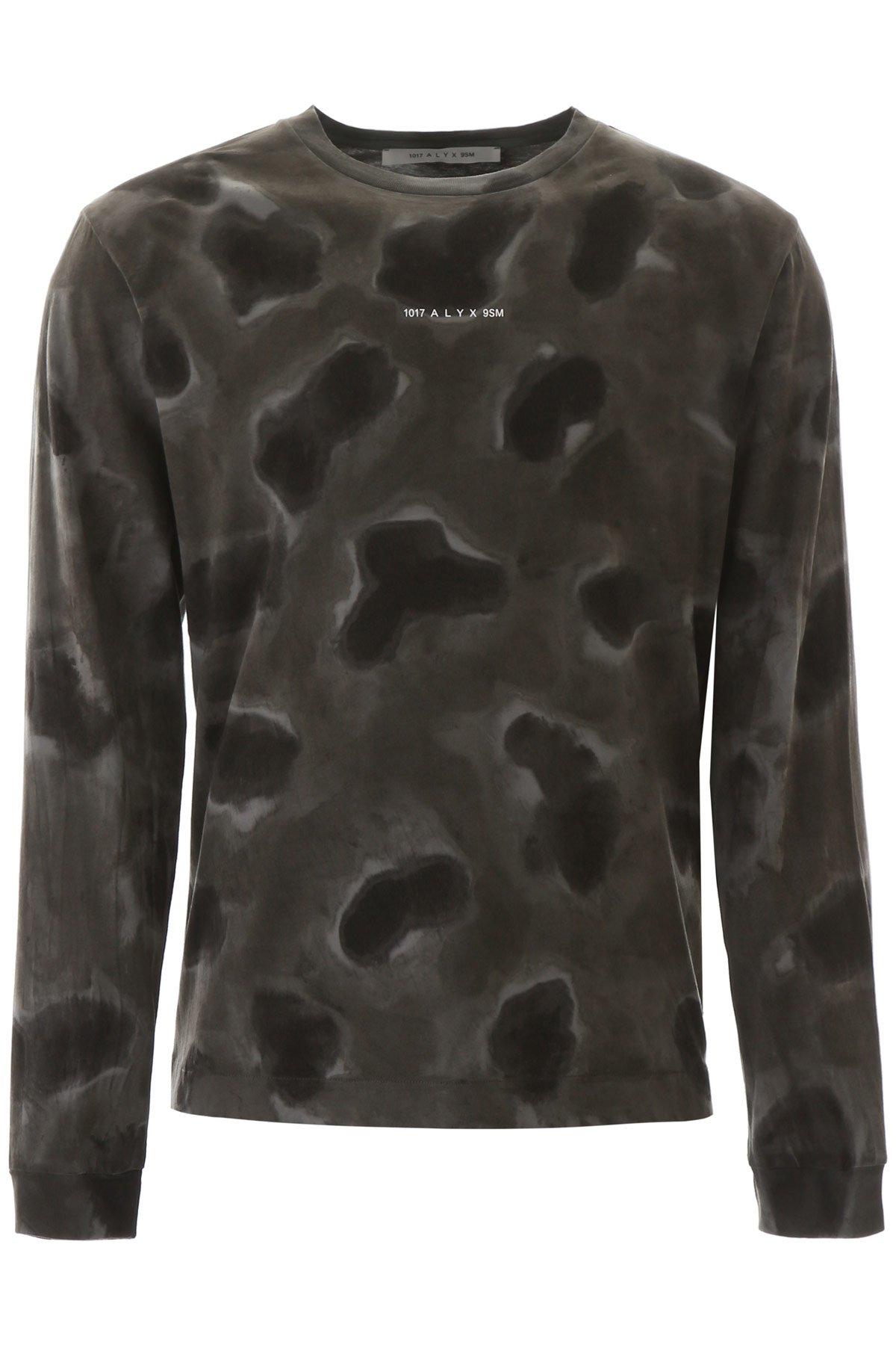1017 alyx 9sm t-shirt logo camouflage