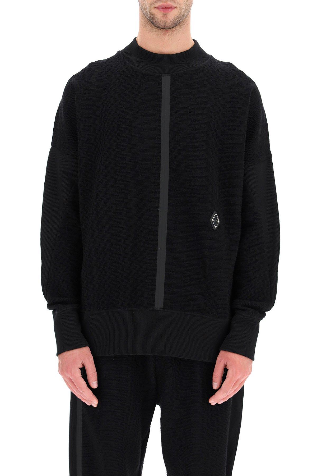 A cold wall felpa girocollo jersey textured