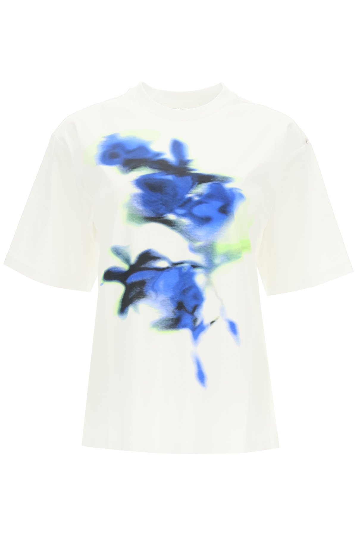 Sportmax t-shirt con stampa floreale