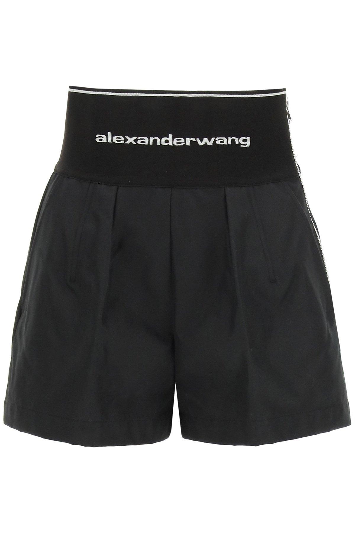 Alexander wang shorts safari con logo