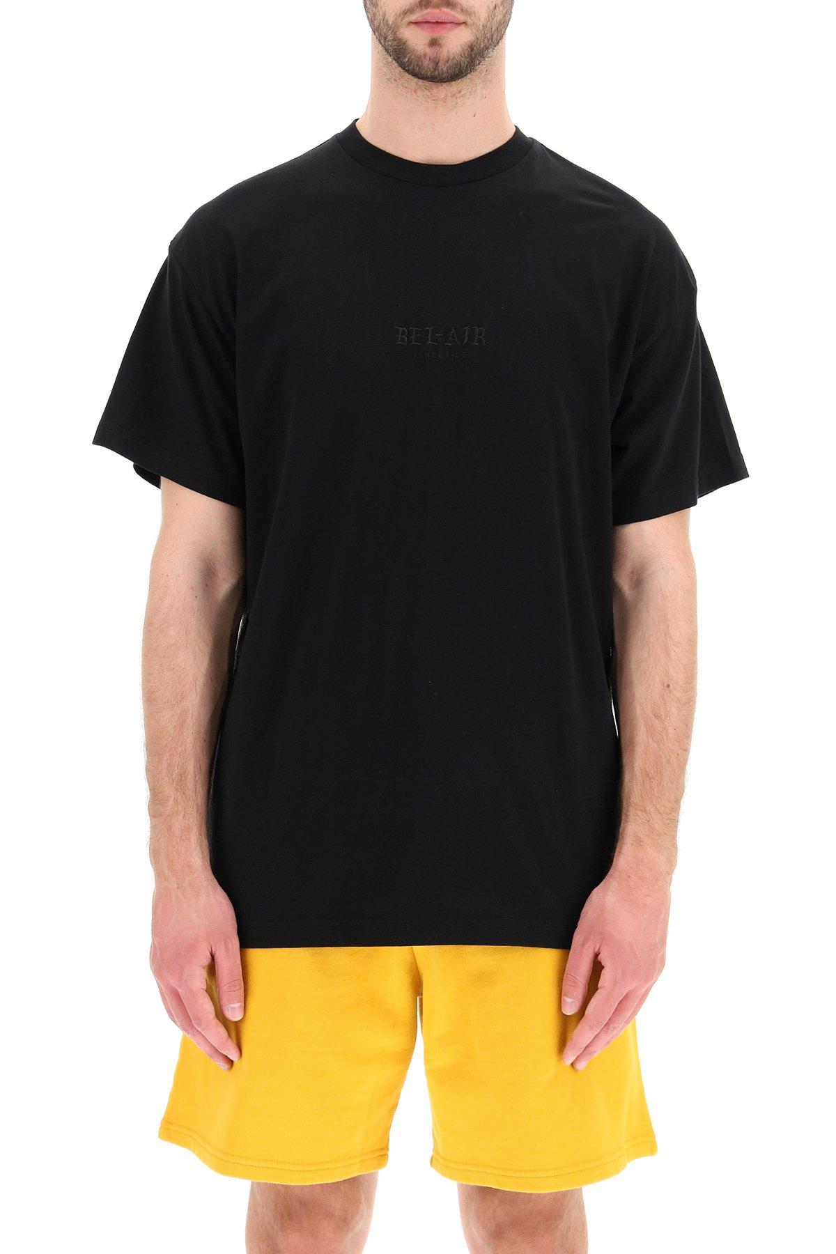 Bel-air athletics t-shirt gothic font
