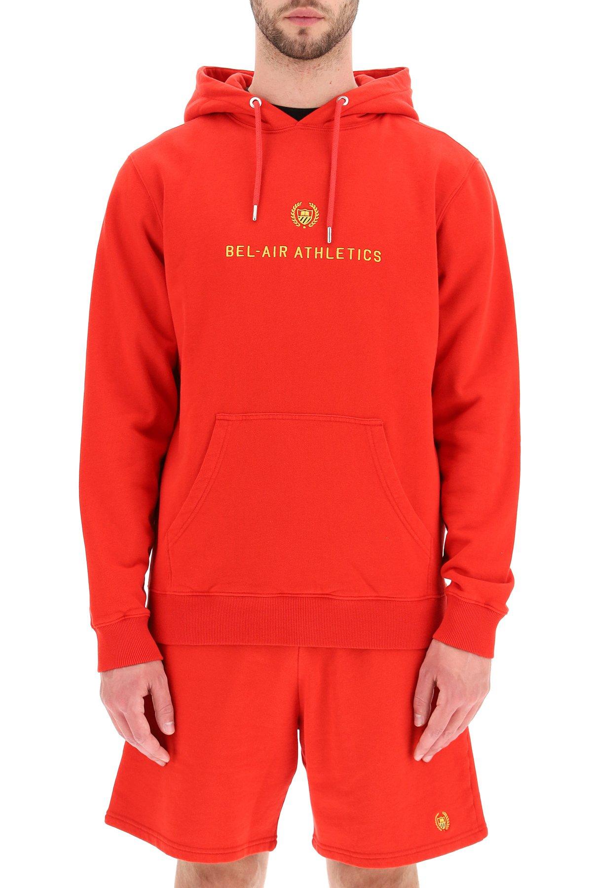 Bel-air athletics felpa con cappuccio academy crest