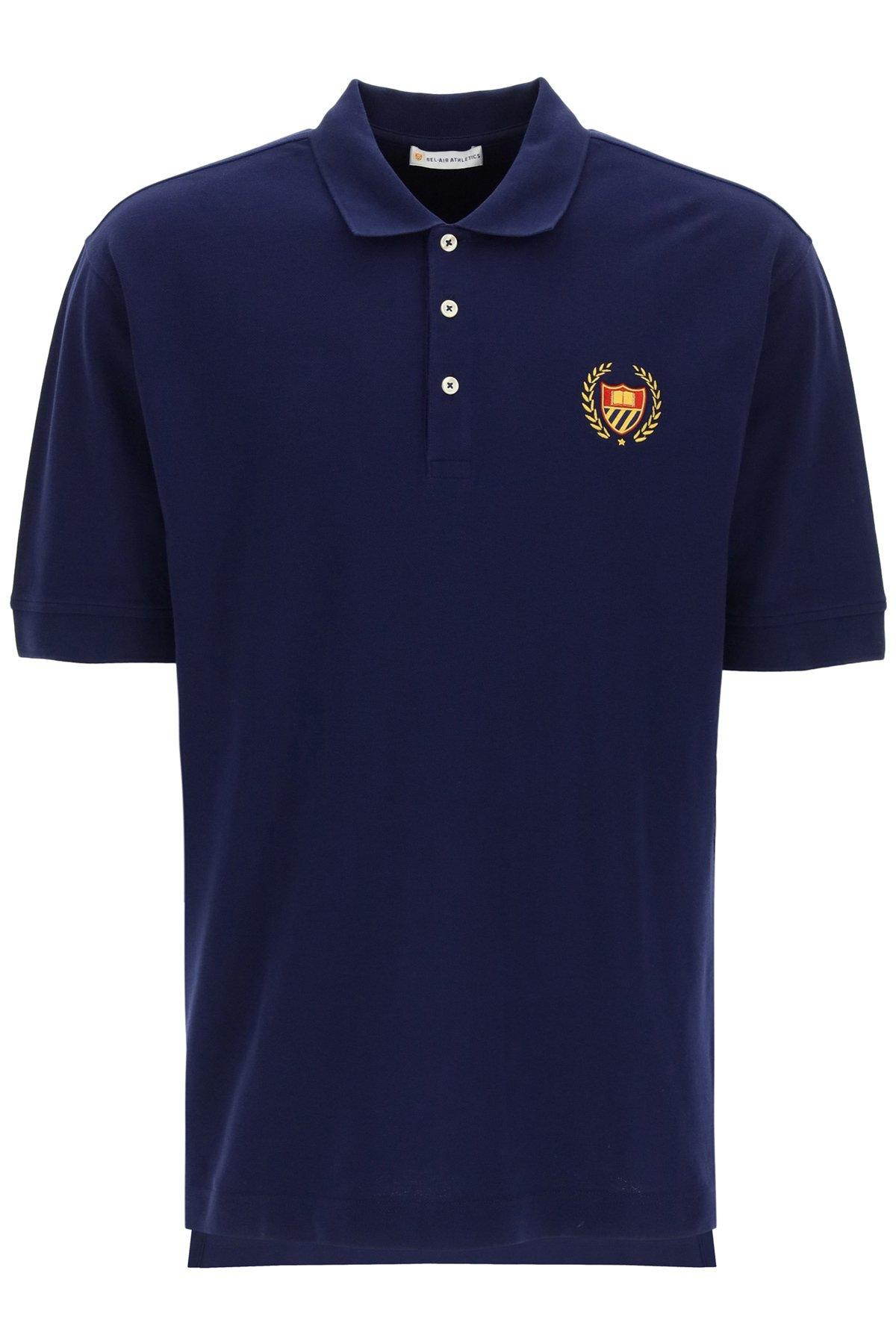 Bel-air athletics polo academy crest