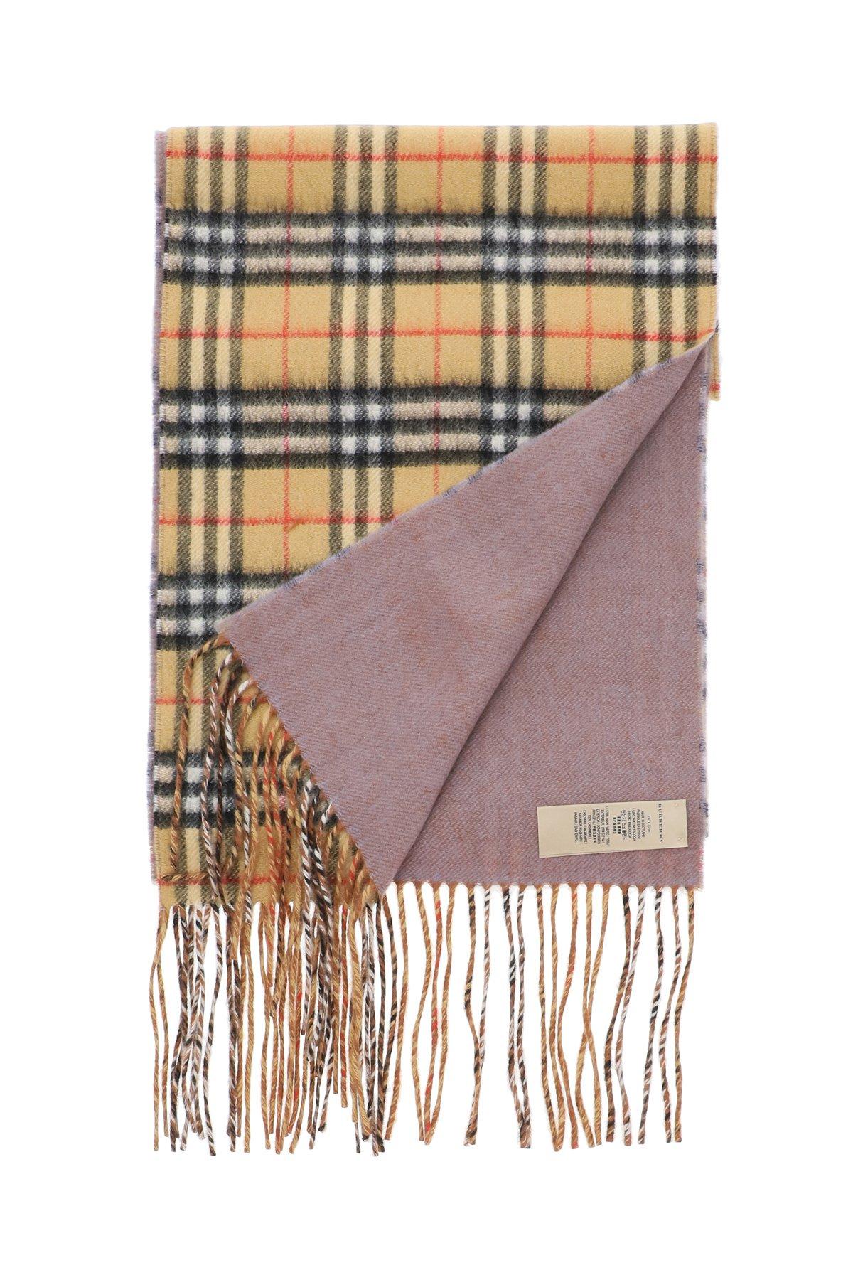 Burberry sciarpa reversibile vintage check