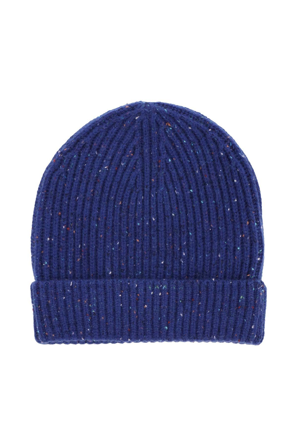 Burberry cappello beanie ricamo logo