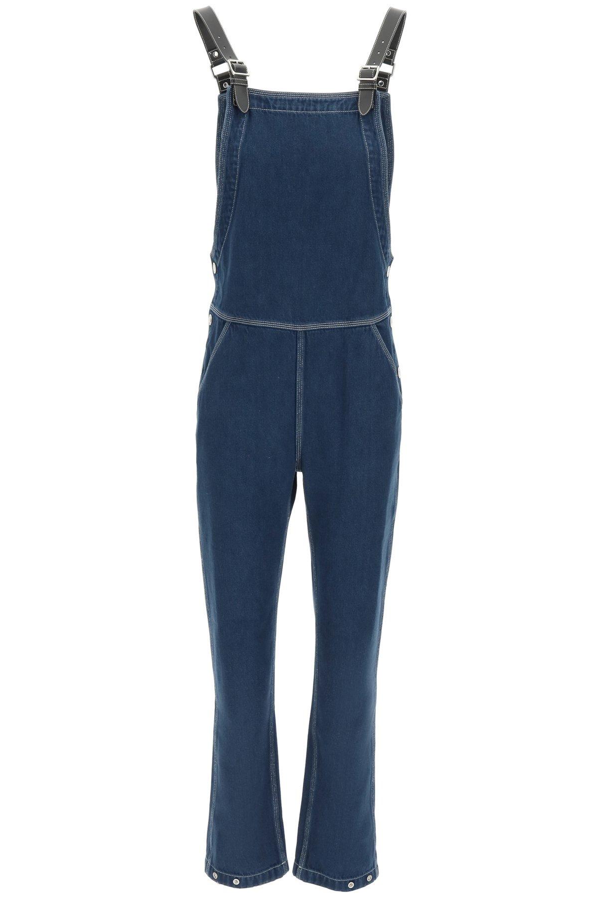 Burberry jumpsuit in denim