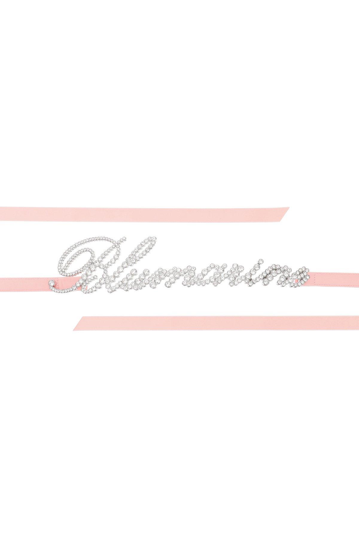 Blumarine cintura monogram crystal