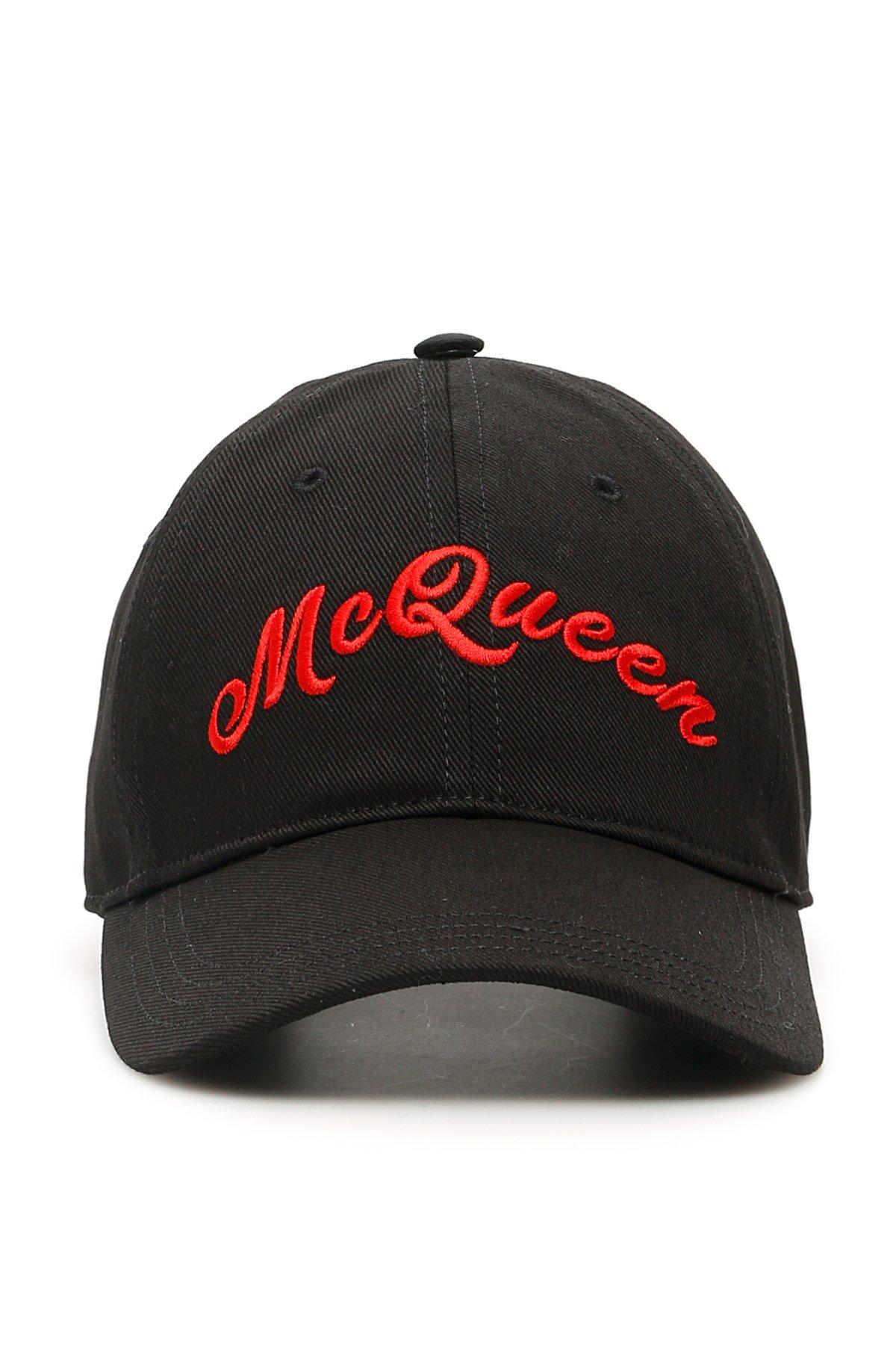 Alexander mcqueen cappello baseball logo