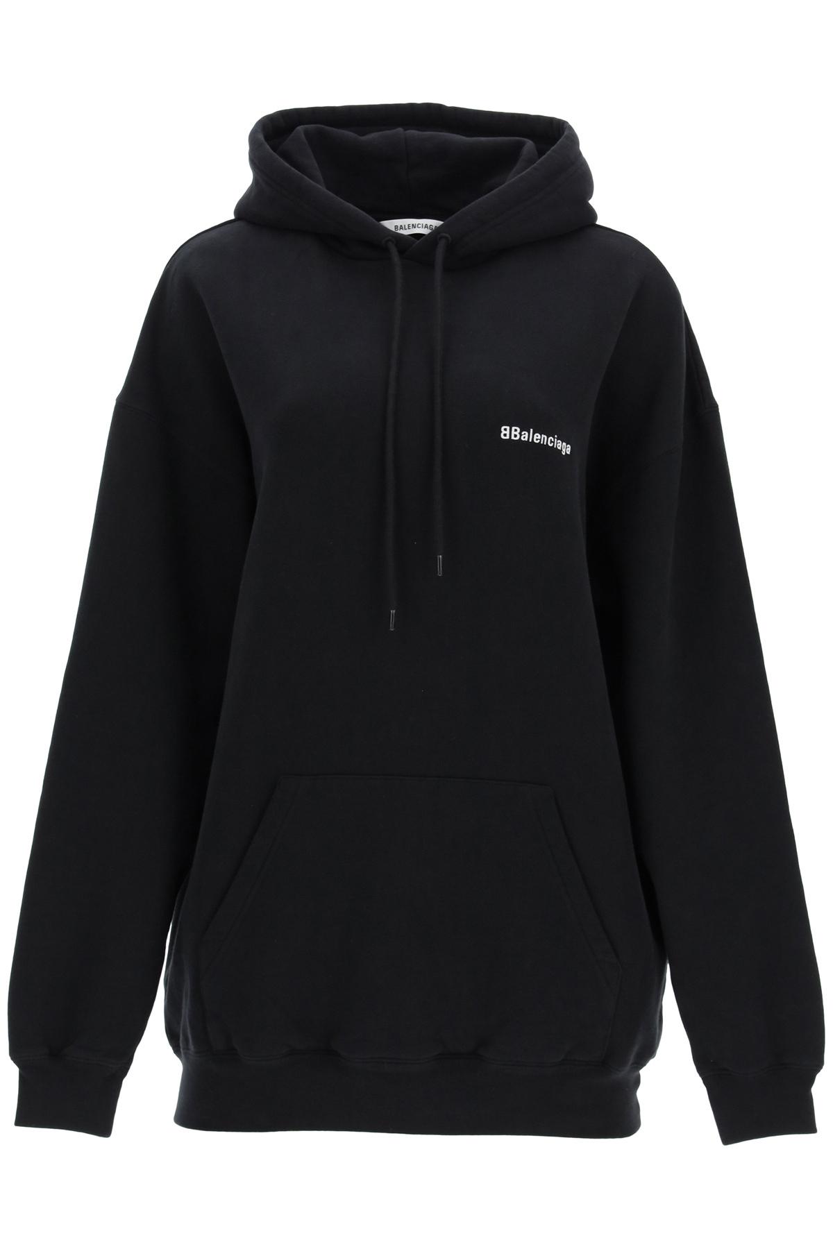 Balenciaga oversized sweatshirt with logo embroidery