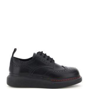 Alexander mcqueen hybrid brogue shoes