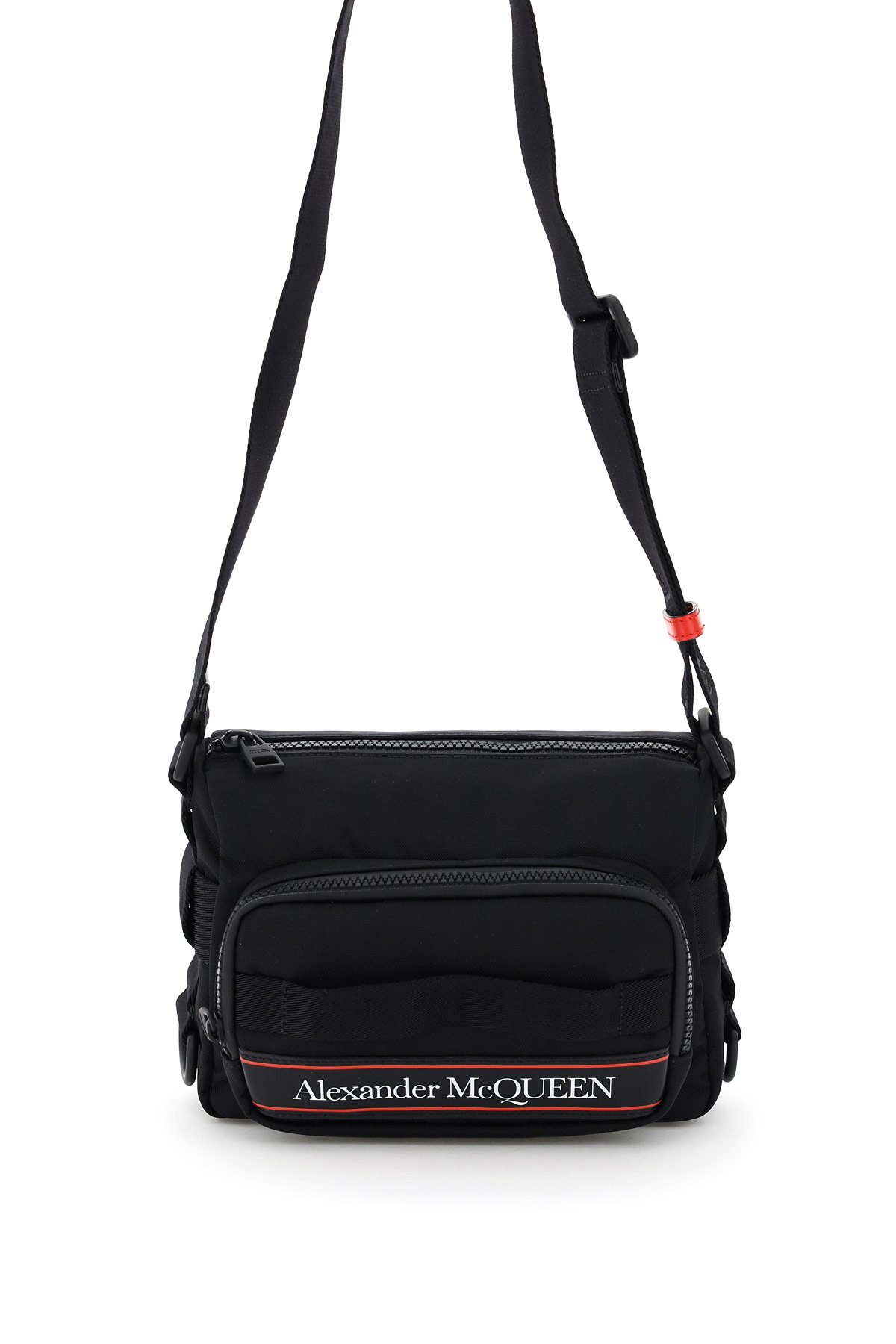Alexander mcqueen urban camera bag logo
