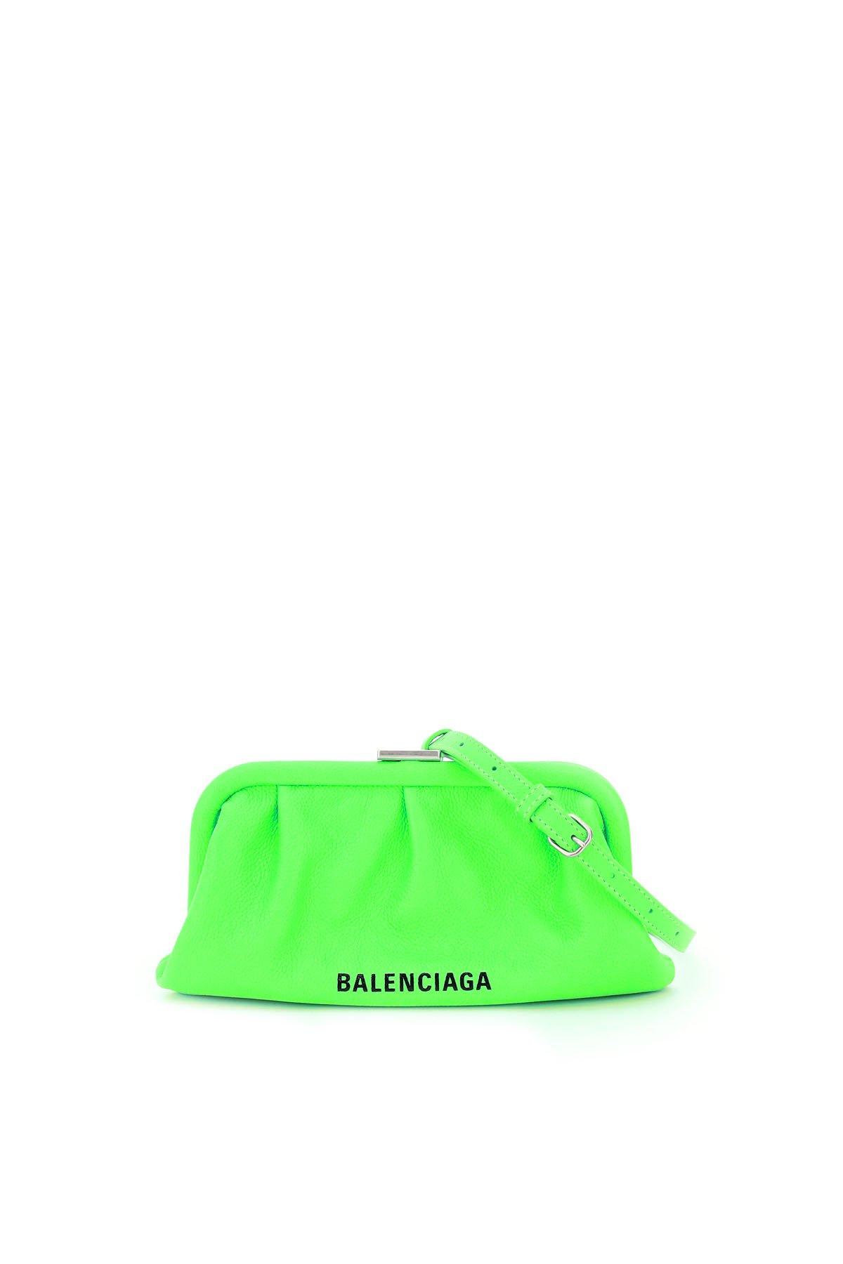 Balenciaga clutch logo cloud xs