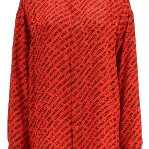 Balenciaga shirt with multi love print