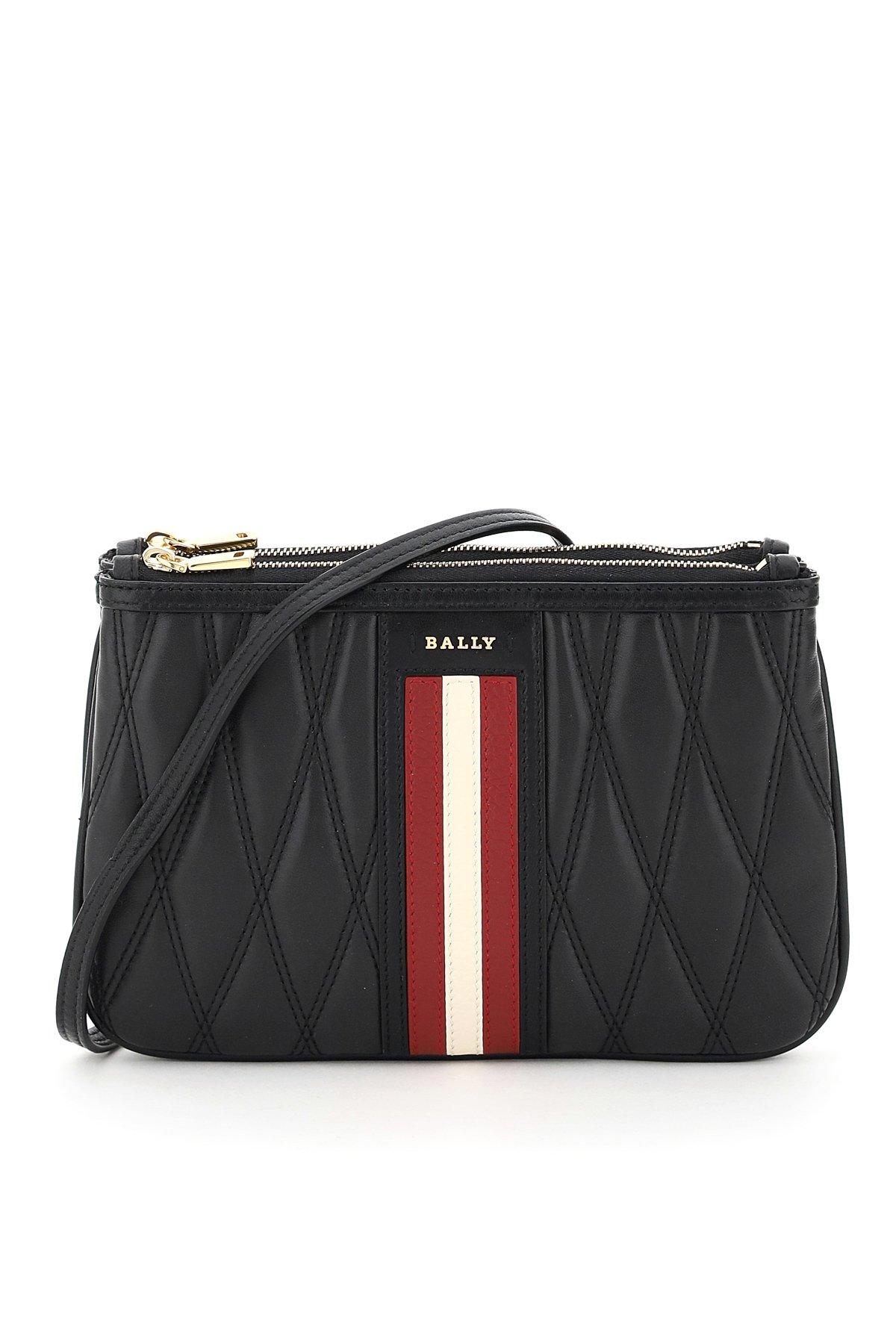 Bally mini bag trapuntata drice stripe