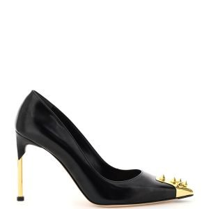 Alexander mcqueen leather pumps with studs