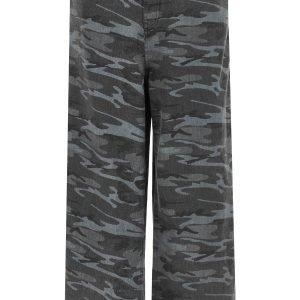 Balenciaga over camouflage baggy jeans