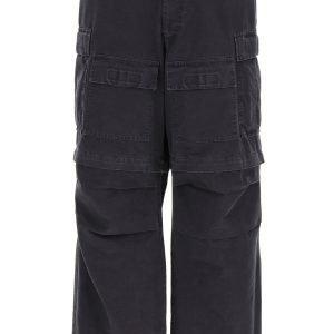 Balenciaga cargo pants in ripstop cotton