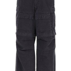 Balenciaga pantalone cargo in cotone ripstop