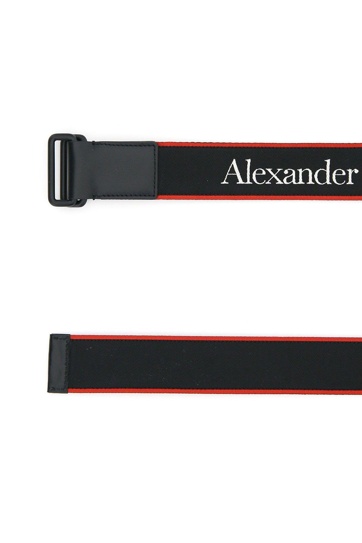 Alexander mcqueen cintura logo jacquard